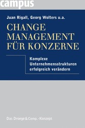 Change Management für Konzerne